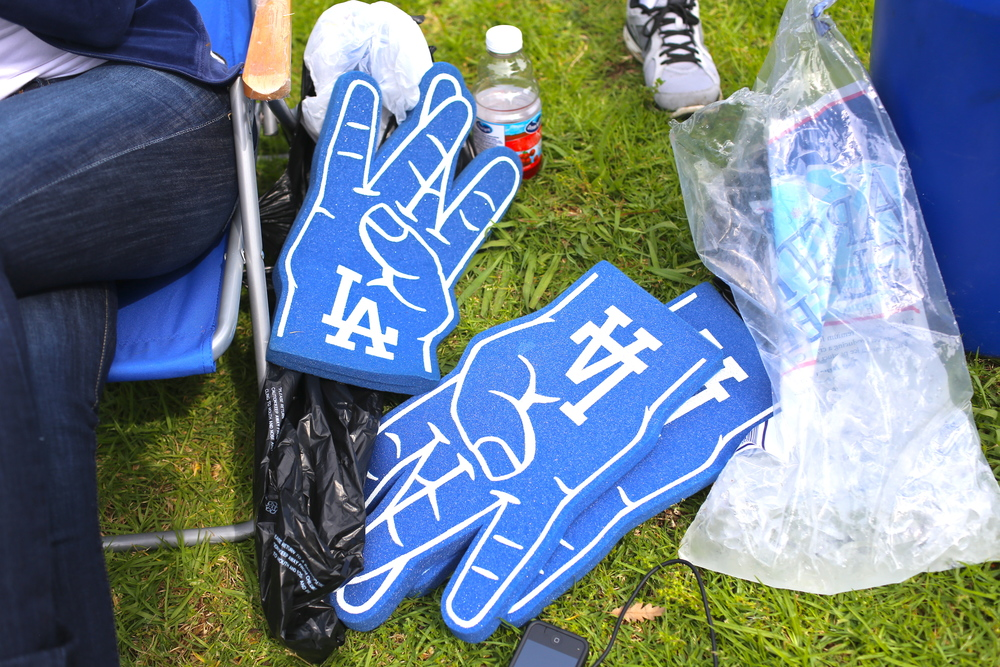 Very proud to announce that LA wins for best foam hands.