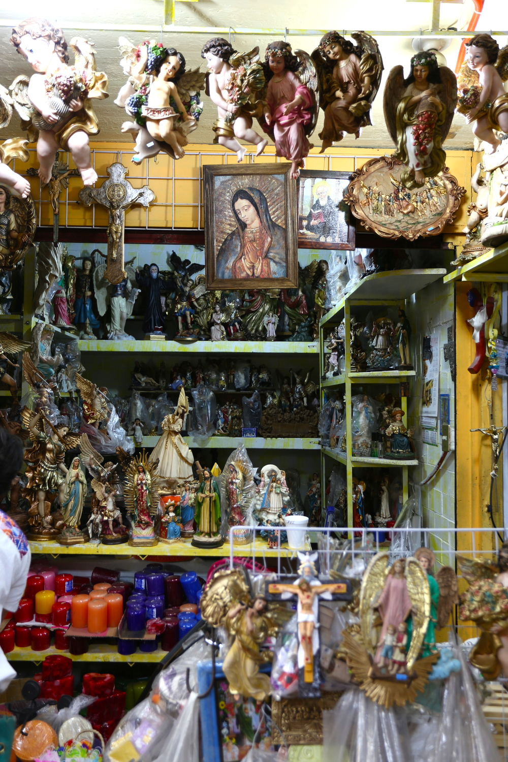 There's no shortage of iconography all throughout Mexico City.