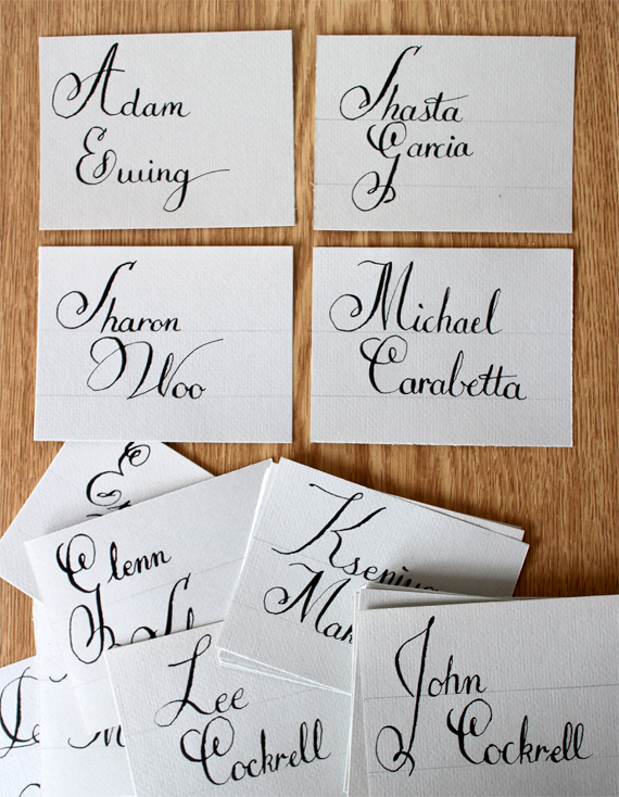 The Calligraphy Trend Shastablasta Wraps Presents Well