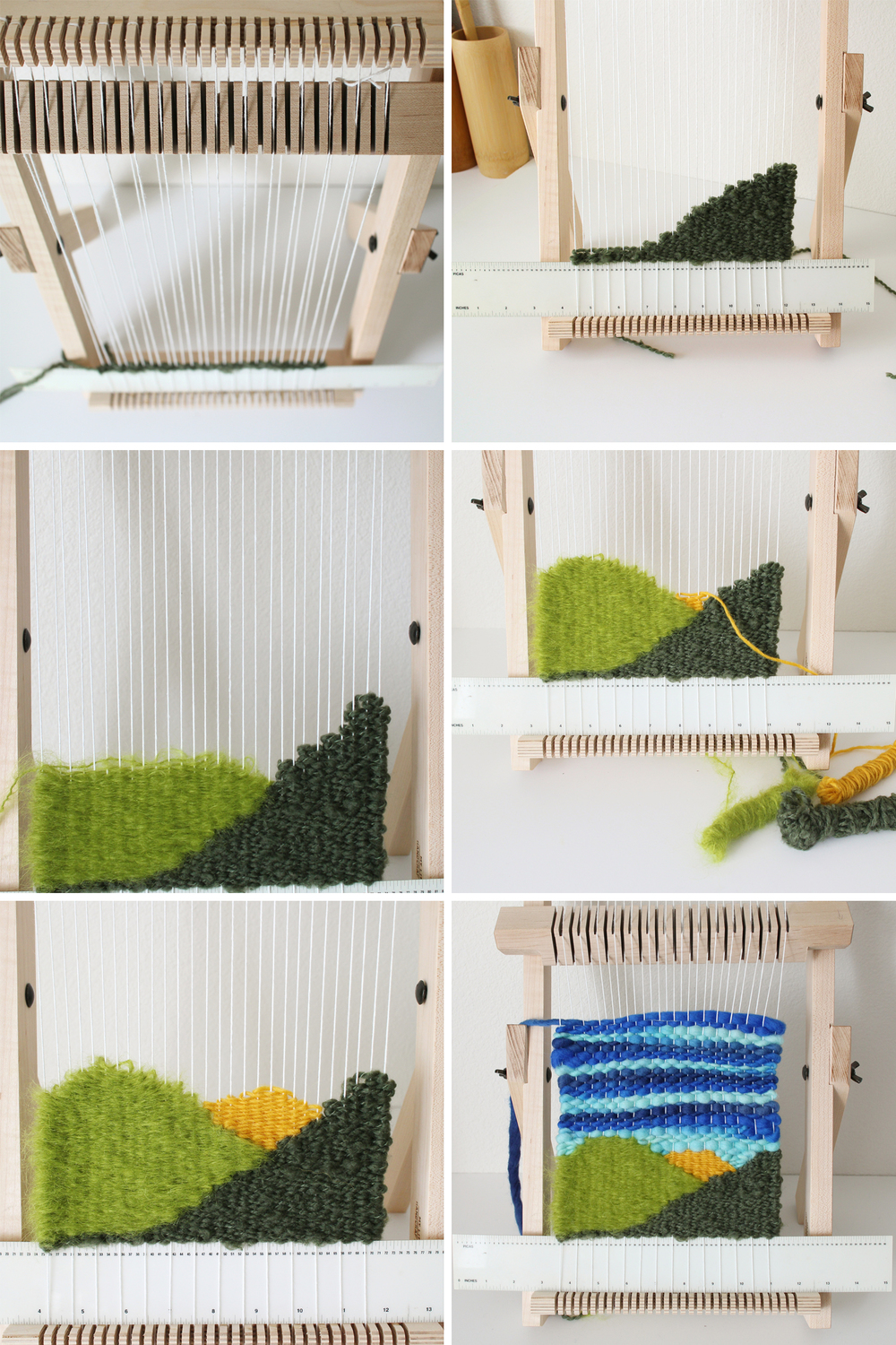 While I was making the weaving I documented it on Instagram as part of my  100 day project.