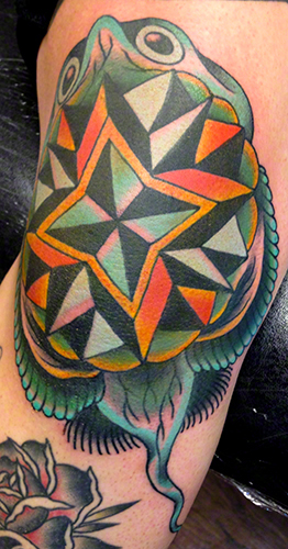 Traditional Tattoo by Jeff Zuck Name Brand Tattoo Ann Arbor MI