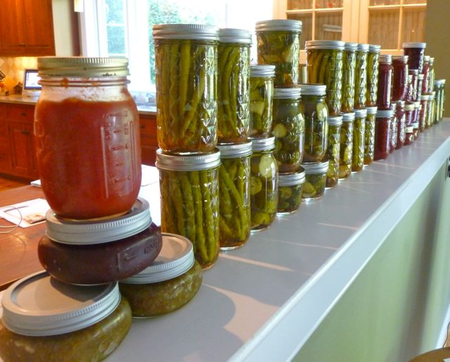 Canning Season Summer 2012