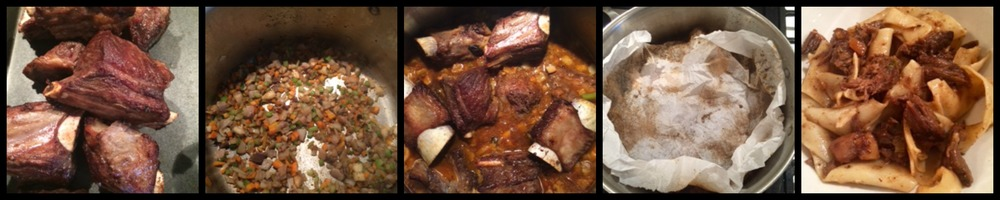 Cooking the Short Rib Ragu - start to delicious finish!
