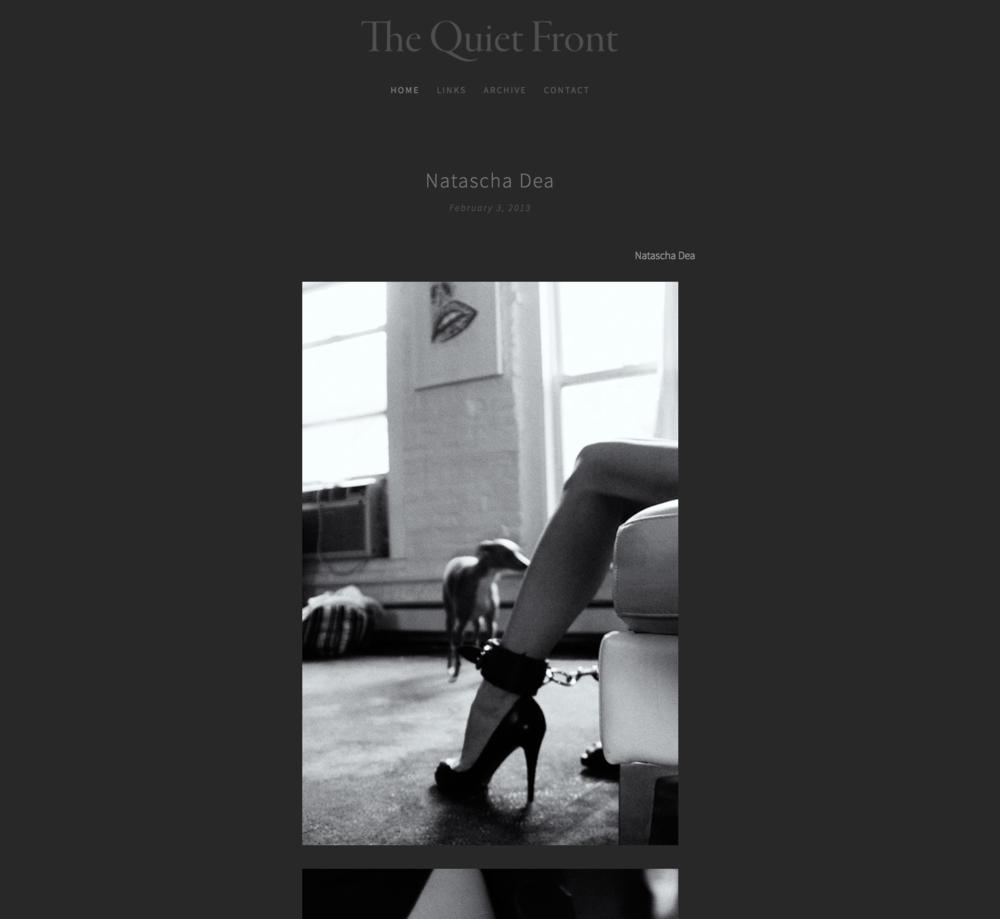 The Quiet Front