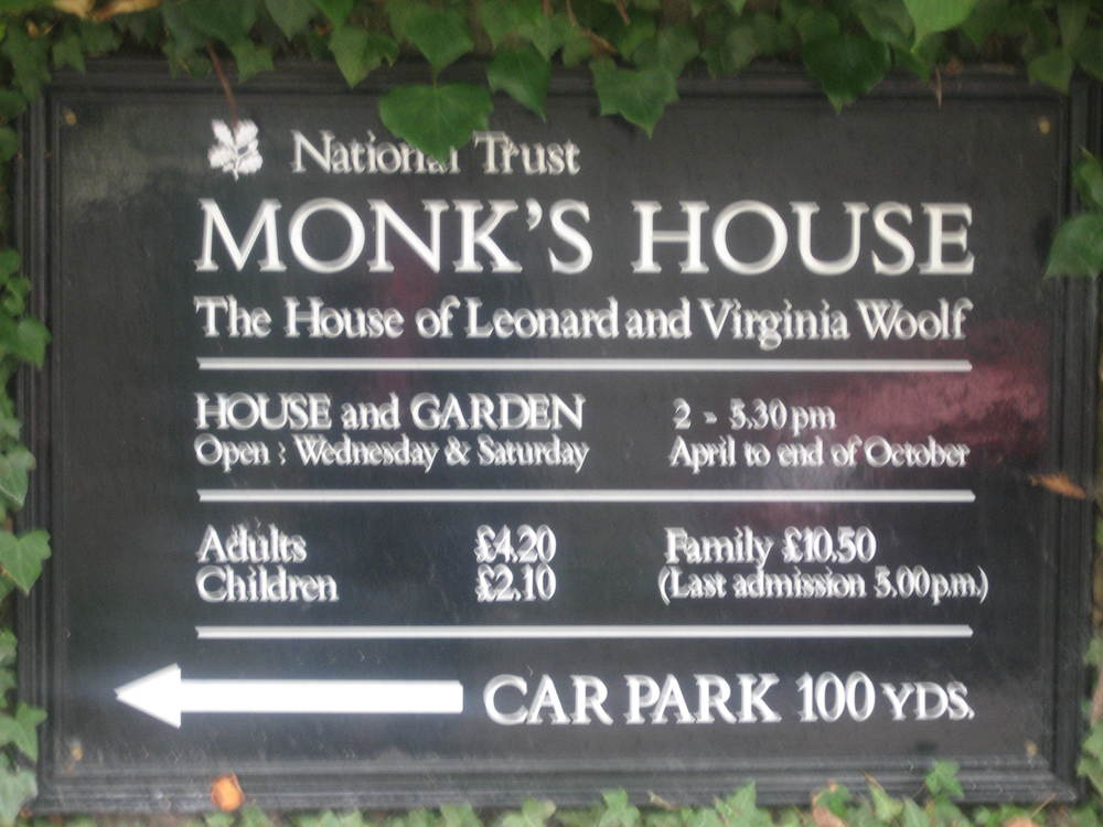 Visit to Virginia Woolf's Monk's House