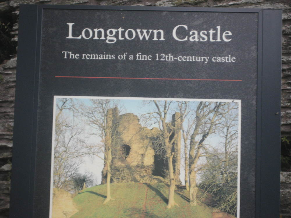 Next, a visit to Longtown Castle