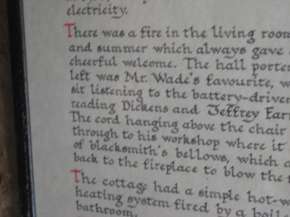 I don't think it's a coincidence that Wade was a fan of Dickens.