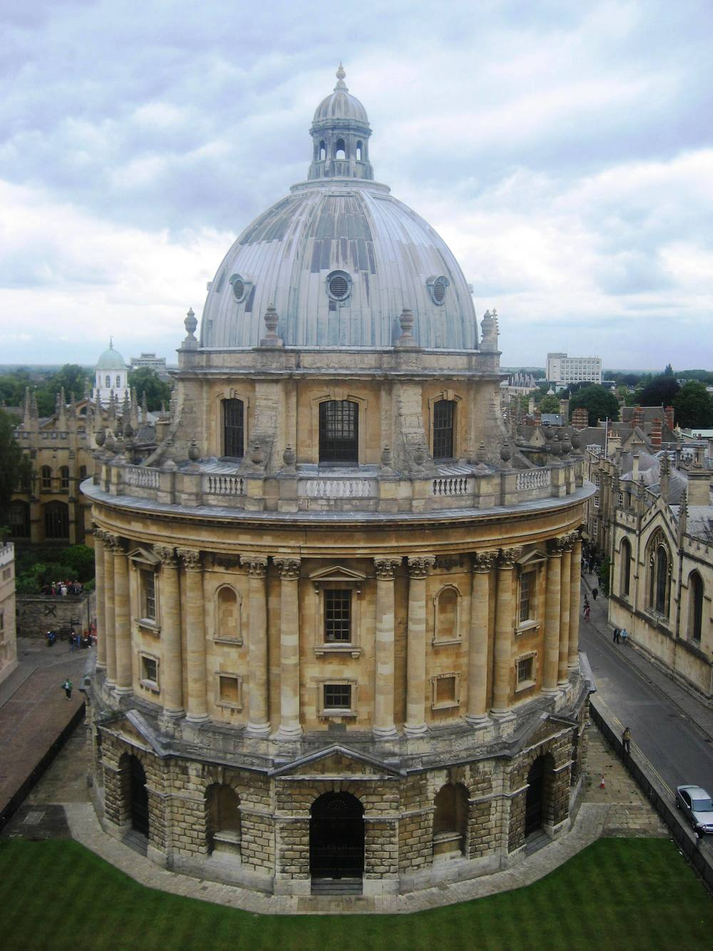 View of Radcliffe Camera (part of the Bodleian Library).jpg