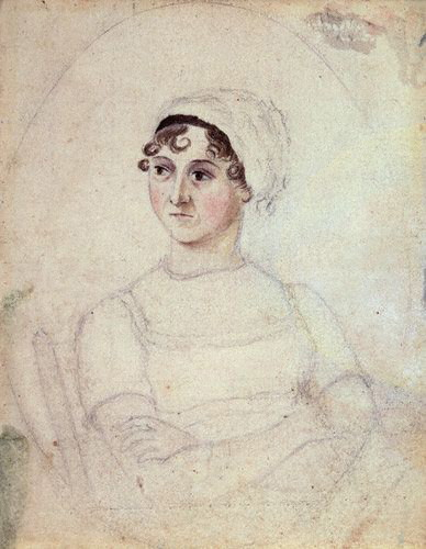 A possible portrait of Austen by Cassandra.