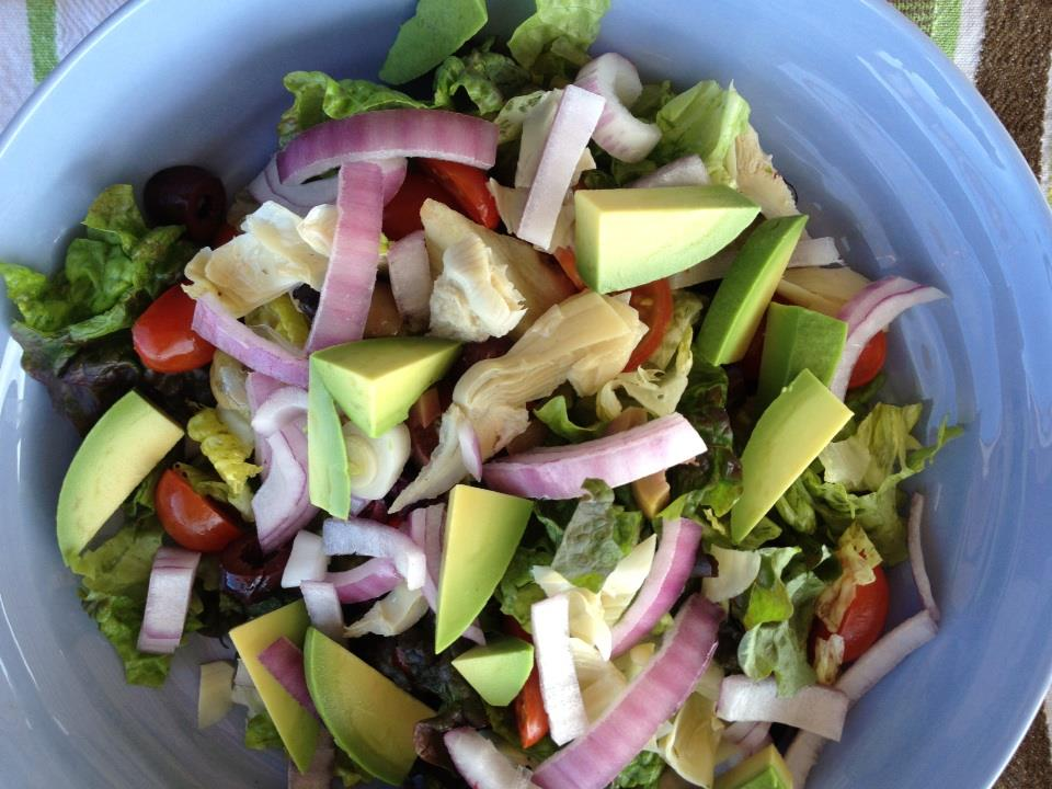 Greek-style chopped salad recipe