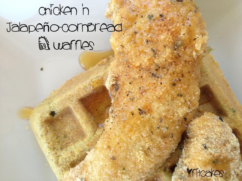 Chicken N' Cornbread Waffles