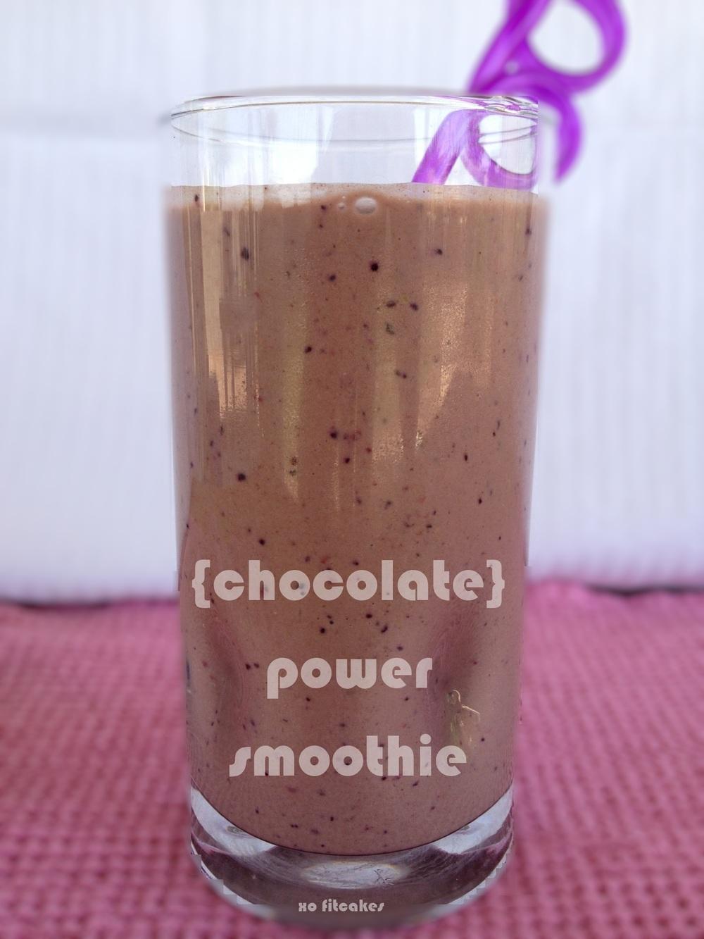 Chocolate Powerhouse Smoothie