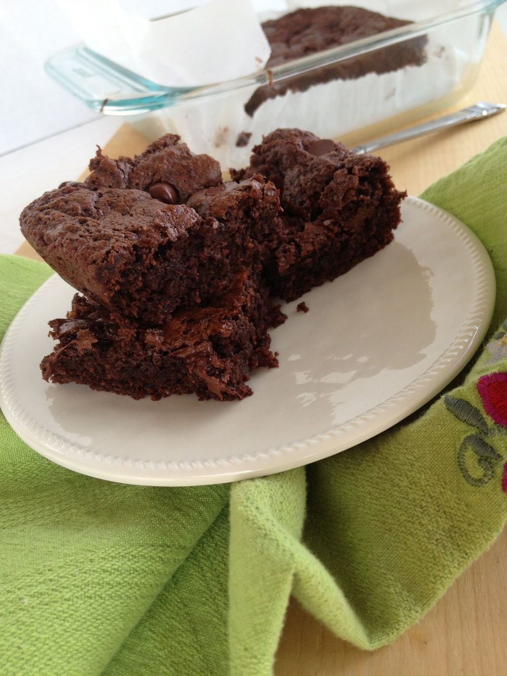 Gluten-Free Double Chocolate Brownies
