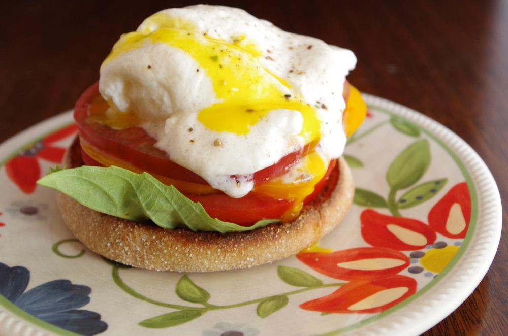 Heirloom Eggs Benedict