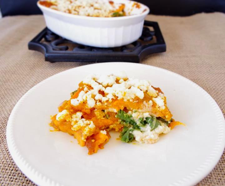 "Pumpkin + Sweet Potato ""Lasagna"" (gf + vegan-friendly)"