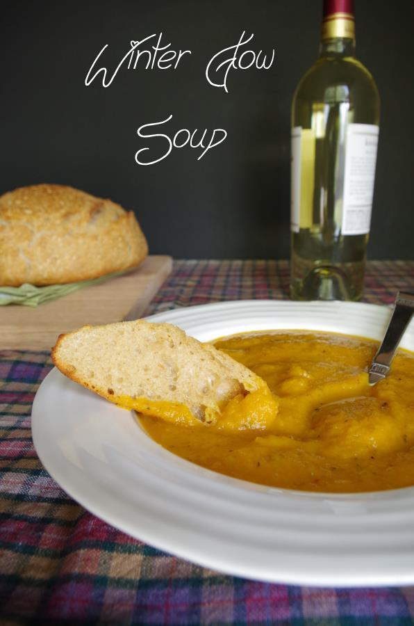 Creamy winter squash soup recipe