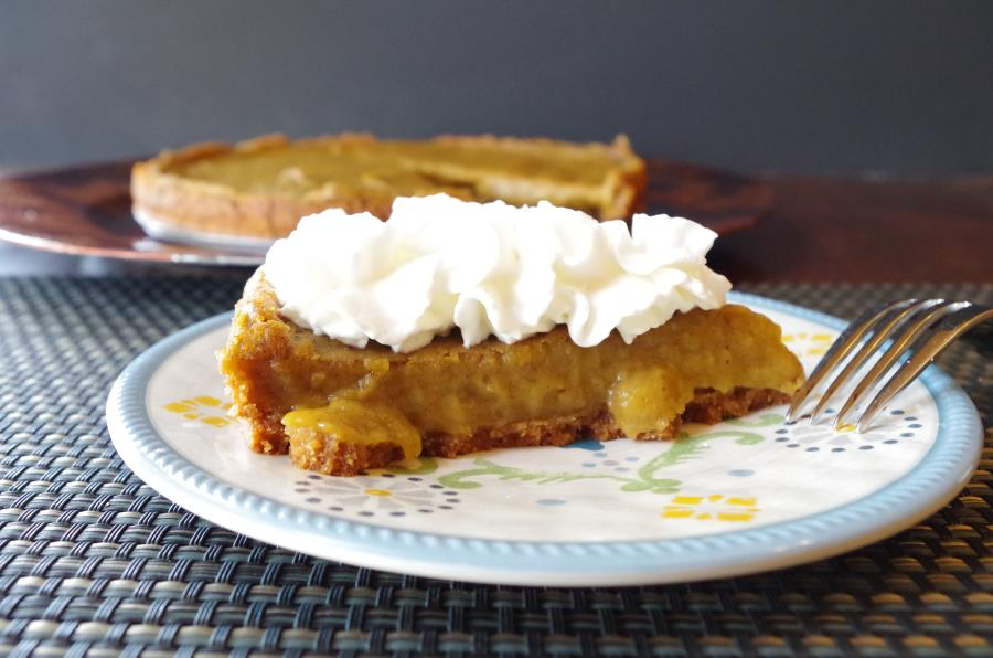 Pumpkin Pie - Healthified