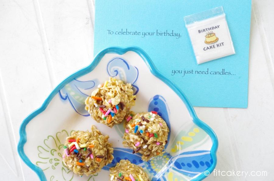 """PreWorkout Powerballs, aka """"Mini Birthday Cakes!"""""""