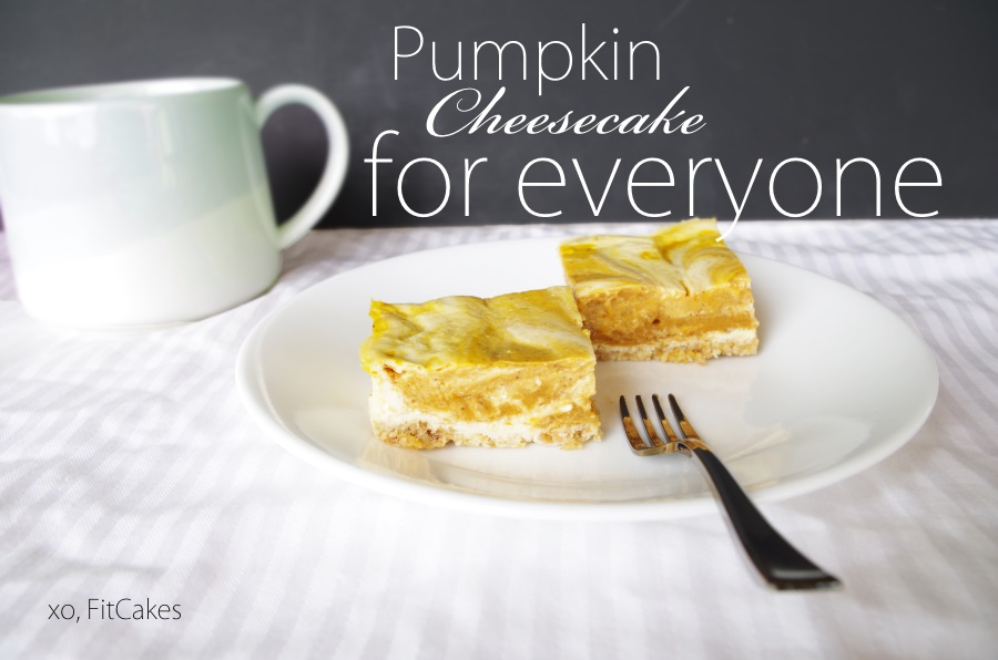 That's right, you can ALL dig in! Low carb AND gluten-free, but couldn't be a tastier fall dessert!