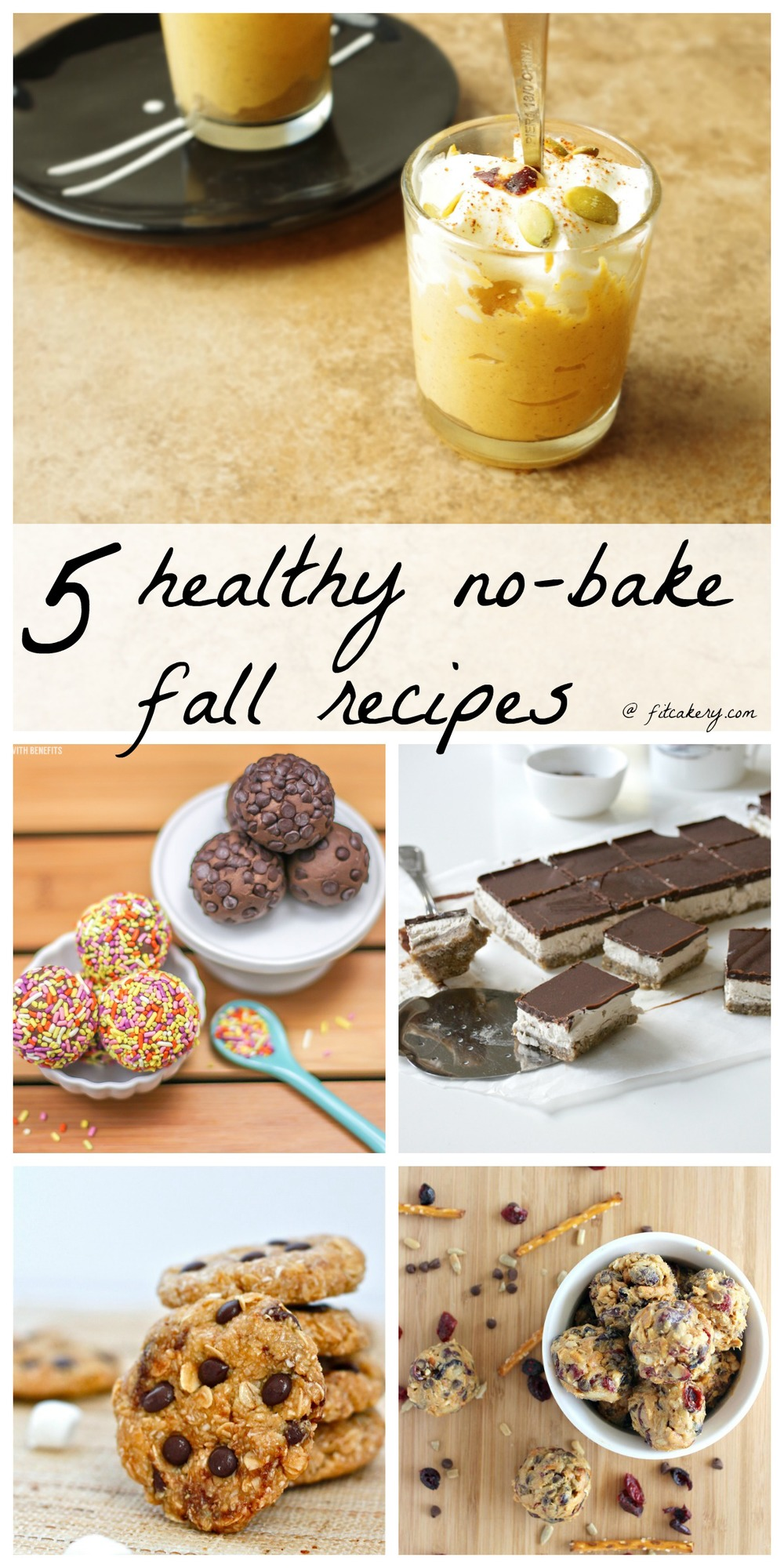 Some of the tastiest recipes on the blogosphere - all quick + healthy - here in time to squash the holiday sweet tooth!