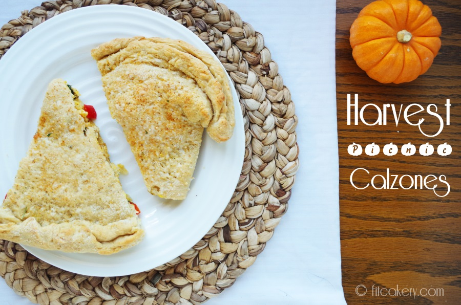Calzones to enjoy in the beautiful weather - the taste of fall is so much better   al fresco! #fallrecipes