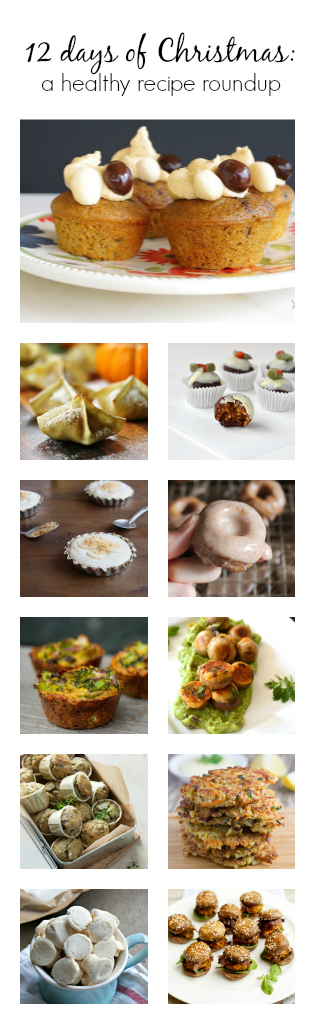 There are 12 healthy small bites for the holidays... and I want to make all of them! #holidayrecipes