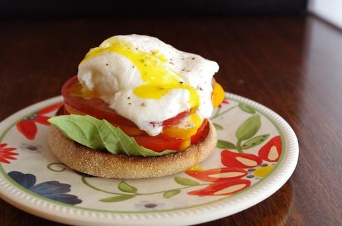 Heirloom Eggs Benedict Recipe - FitCakery.com