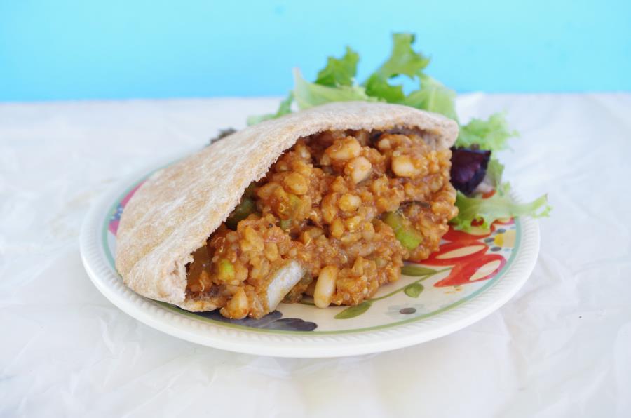 """Meaty"" VegetarianSloppy Joes Recipe - FitCakery.com"