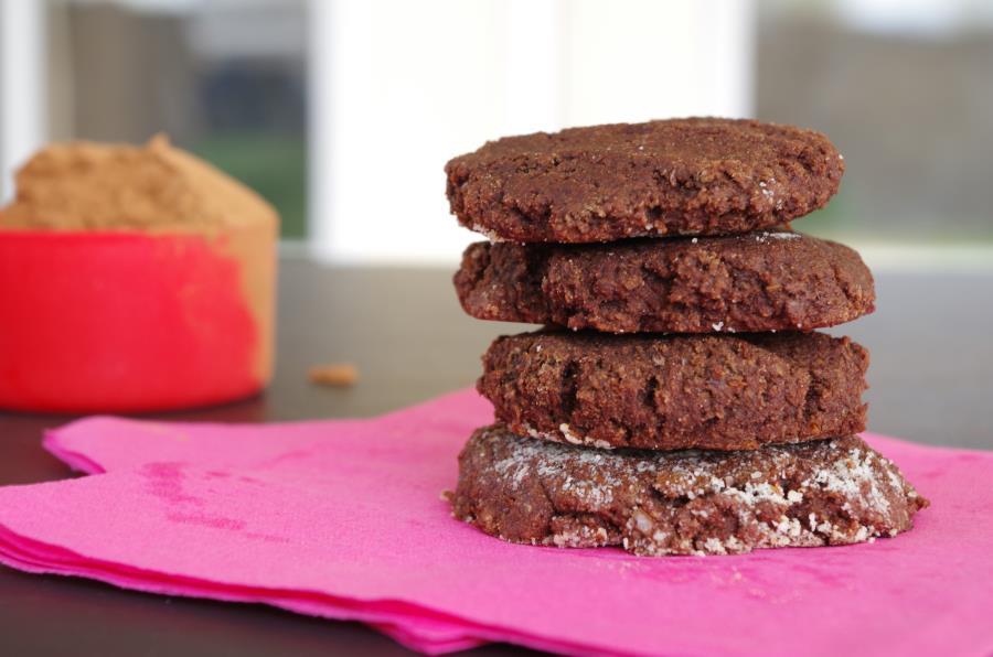 Clean Eats Chocolate Cookies (gluten-free, vegan)