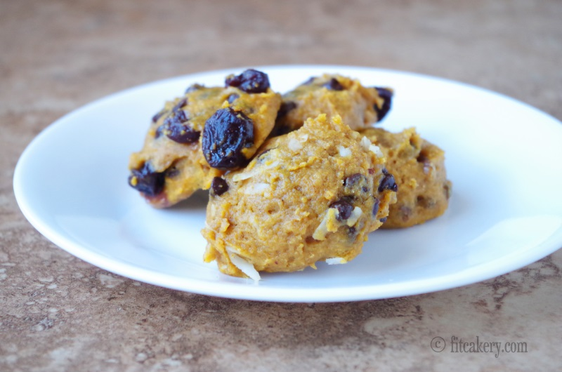 Delicious and Healthy Pumpkin Muffin Tops Recipe - FitCakery.com