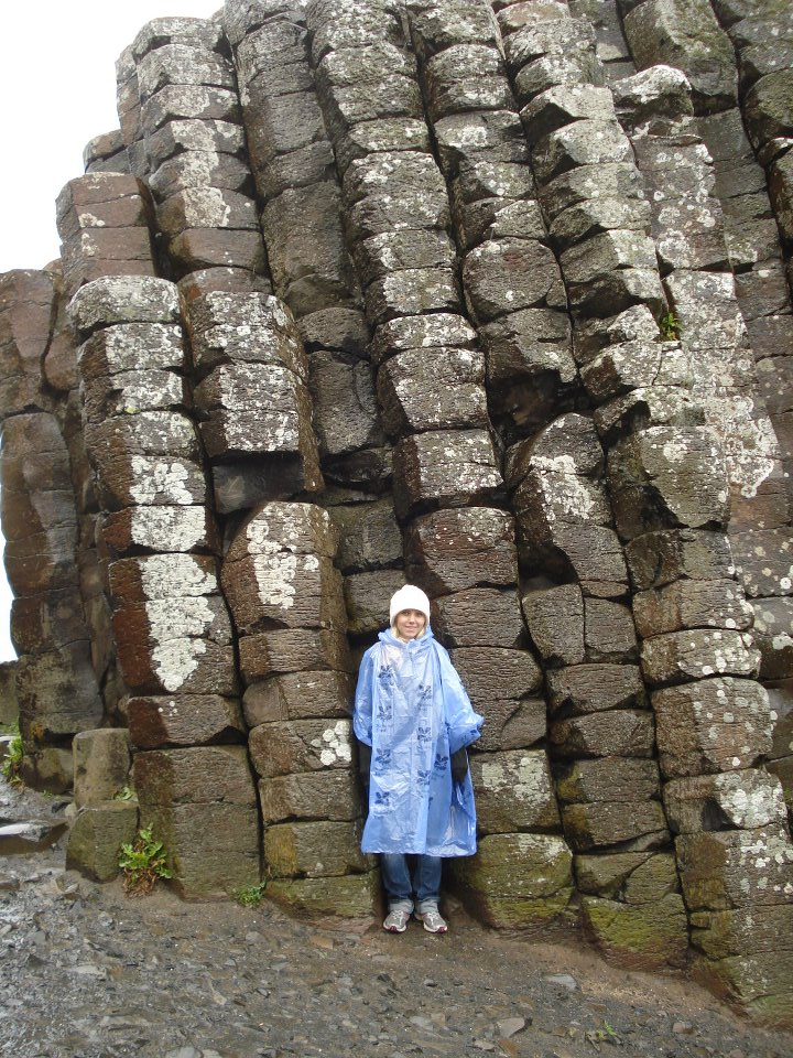 Me at the Giant's Causeway in Northern Ireland