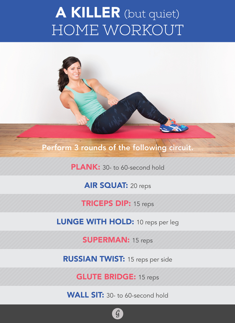 Killer at-home workout - Greatist.com