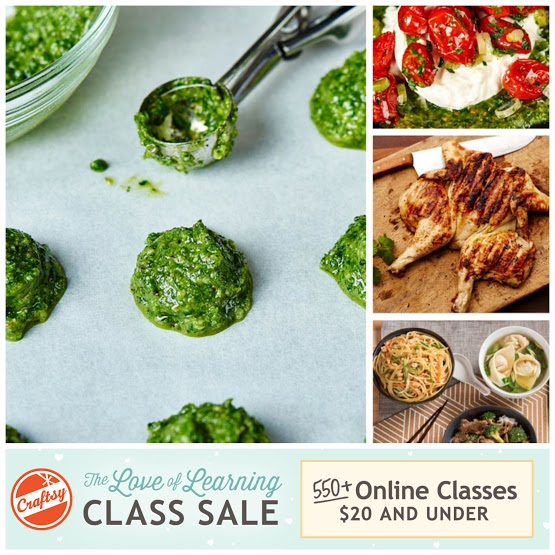 Making is what you love, learning is how you get there. Let Craftsy's Love of Learning Class Sale make it easier for you to savor the joy of making, today! For a limited time, shop 550+ online Craftsy classes $20 and under! PS. this ad helps support the Fitcakes blog!