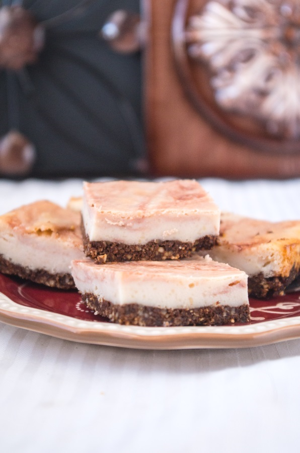 Port Cheesecake Recipe with Vegan Option | FitCakery.com