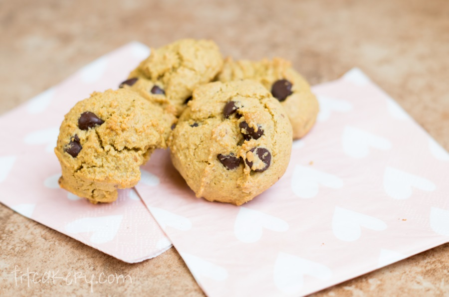 Chewy Gluten-Free Chocolate Chip Cookies | FitCakery.com