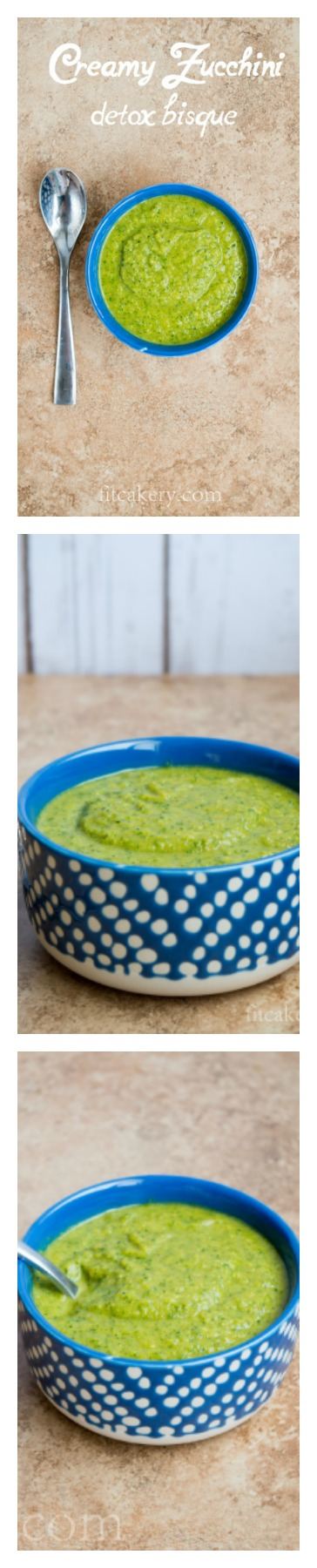 Creamy Zucchini Detox Bisque | gluten-free, vegan-friendly, AIP, paleo | FitCakery.com