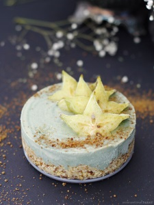 19. Raw Beach Cheesecake - Unconventional Baker