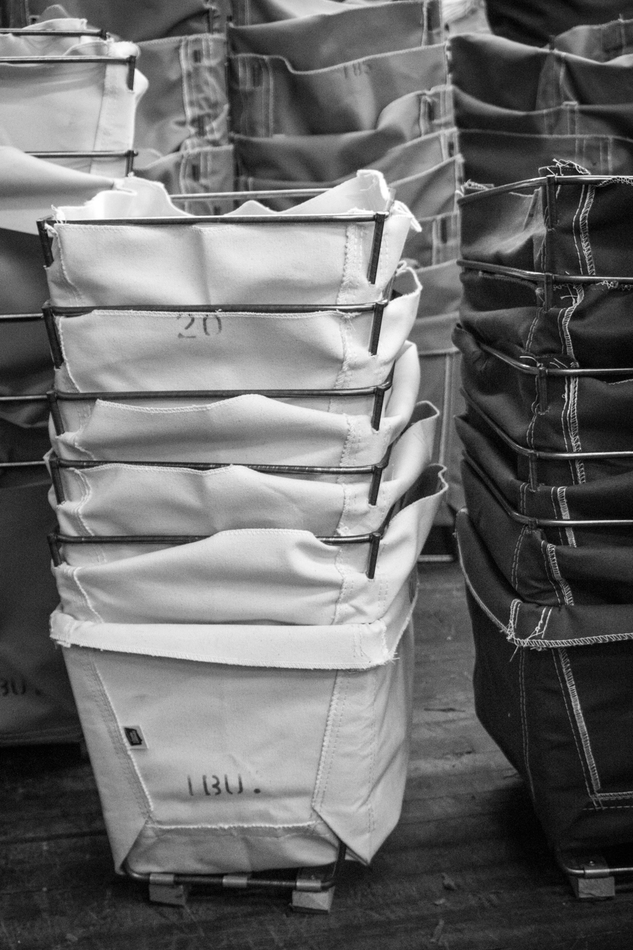 All Steele products are cut, sewn, welded and assembled by hand in Chelsea, MA.