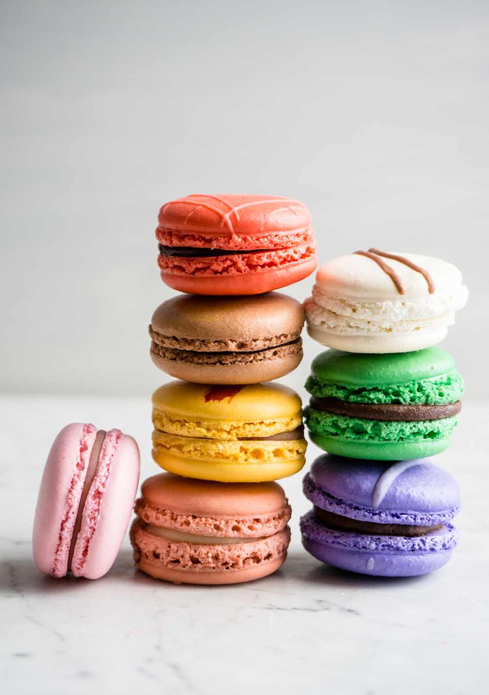Finesse Pastries macarons - beautiful colors and endless flavor variations.