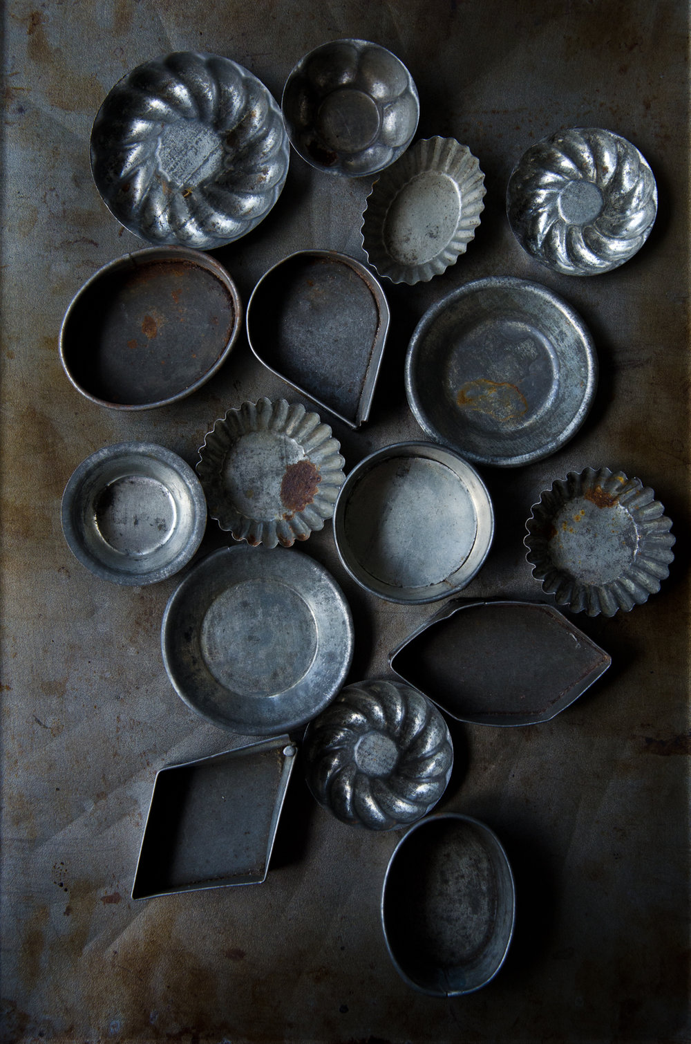 Collection of antique Maple Sugar Molds