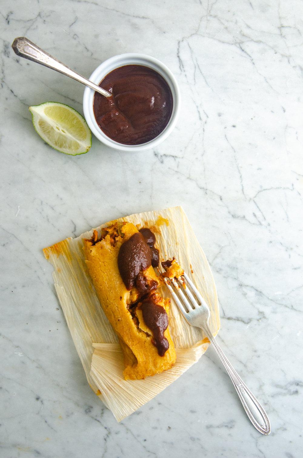 Smoked Oaxacan Mole Sauce