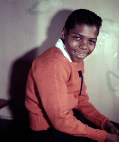 Frankie Lymon (assumed age 13-14) image source