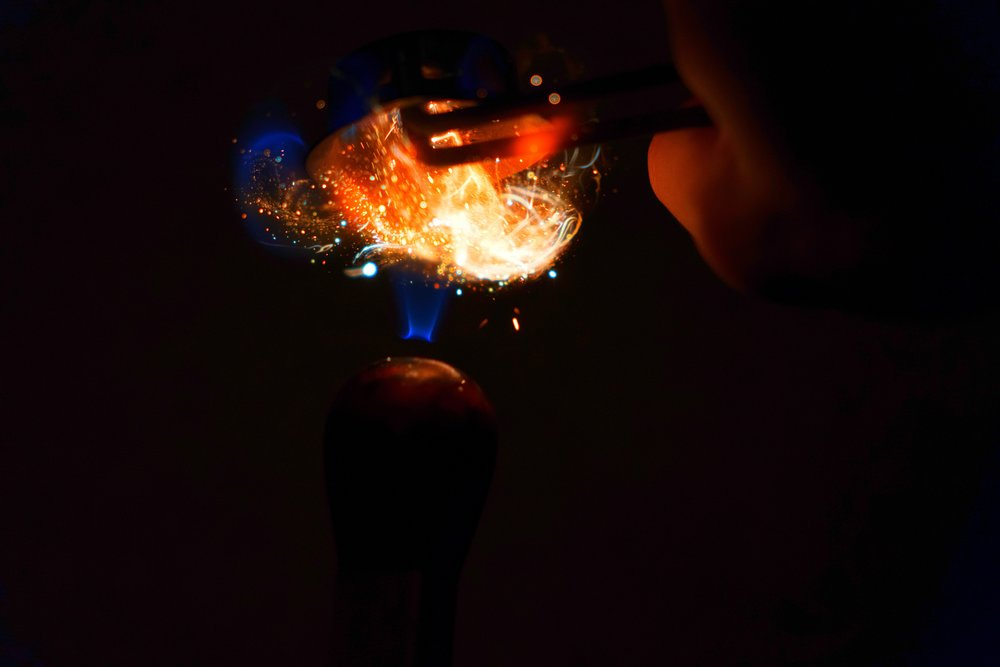Fire Photography:Welding Torch Striker -
