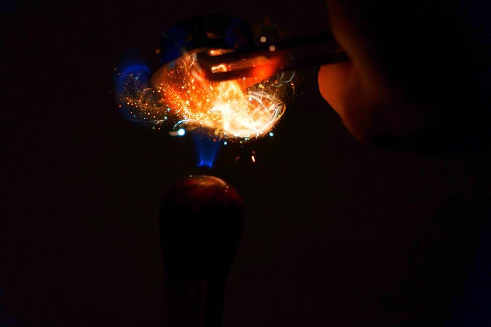 Fire Photography:Welding Torch Striker -
