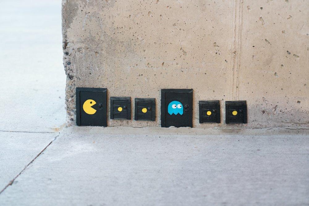 Minneapolis: Tiny Door Street Art -