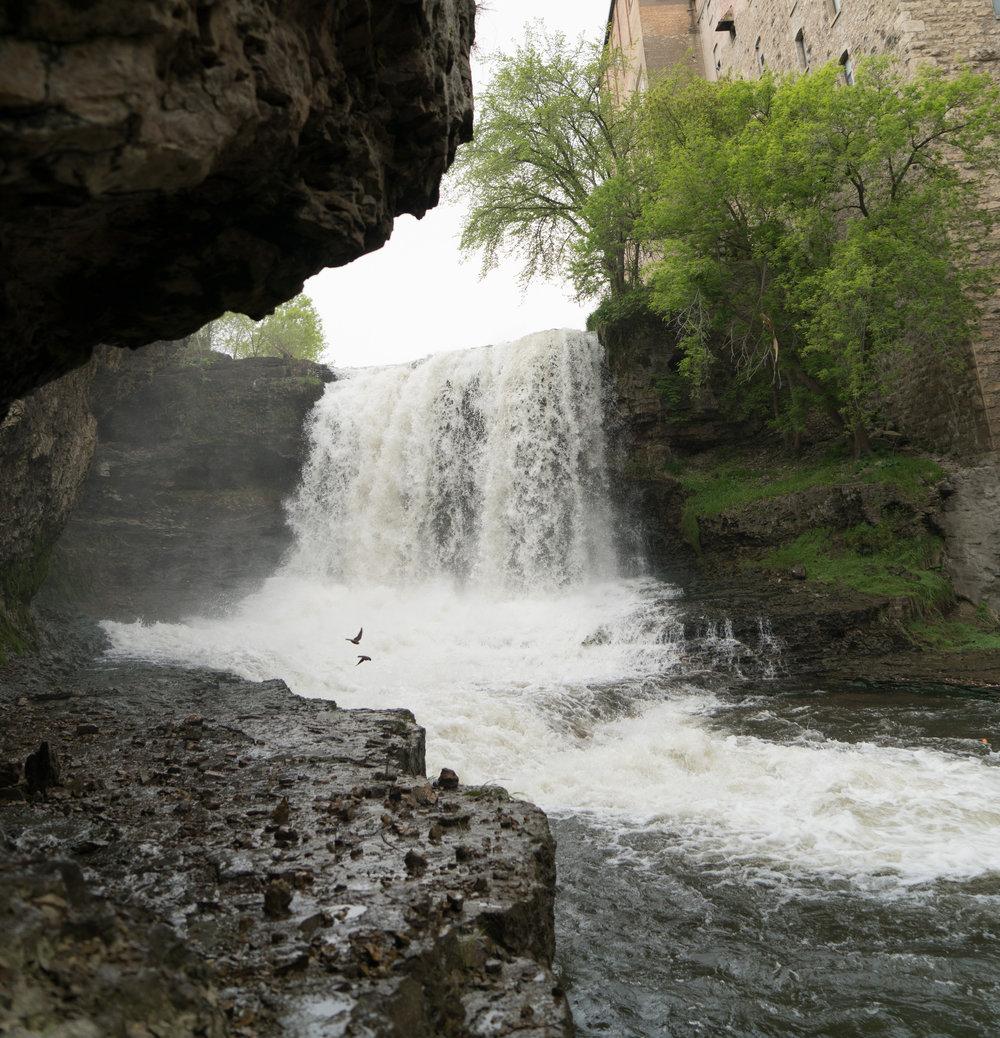 A Trip in Minnesota:Vermillion Falls Park -