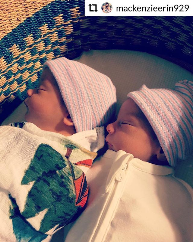#RepostPlus @mackenzieerin929 - - - - - - Welcome to the family little brothers!  We are so happy to have finally welcomed our twin boys, born Friday 11/2/18 💛 Theodore Jack  6:36pm, 6lbs 12 oz, 20 in 💛 Henry James  7:04pm, 6 lbs 5 oz, 19.5 in  We are home, we are happy, and in newborn snuggle heaven 💗