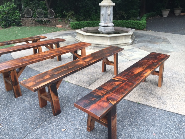 Benches For Hire Big Event Picnic Tables