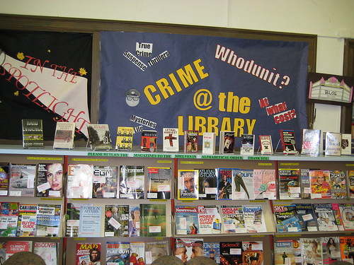 Crime at the Library, indeed. Photo bynataliesap