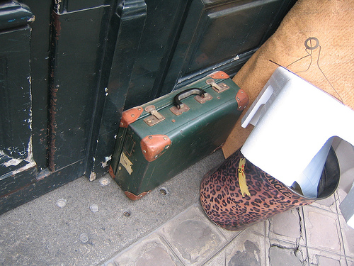 Unattended Suitcase byphooky